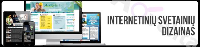 Internetiniu svetainiu dizainas