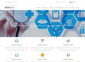 Medicinos wordpress tema