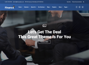 FinancePlus wordpress theme