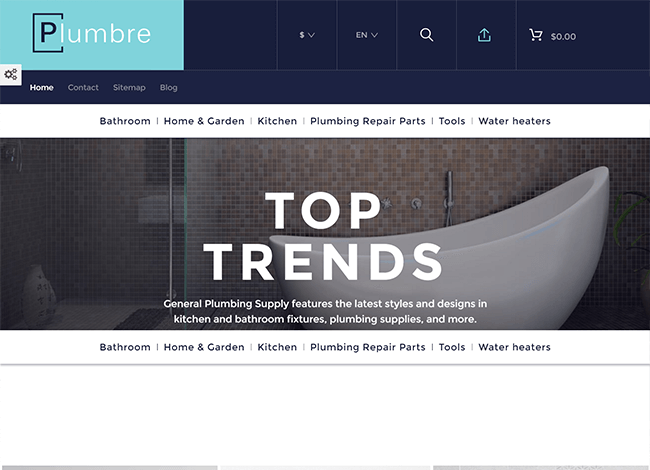 Plumbre wordpress theme