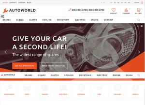Auto world sablonas