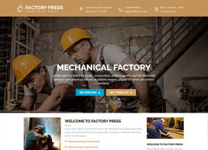 Factory Press2 tema