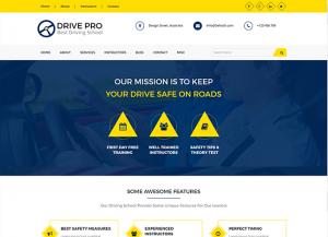 Drivepro wordpress theme