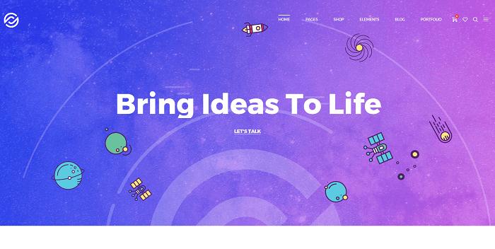 Creative Agency Optima tema