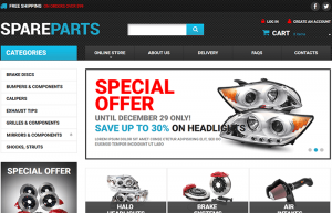 Auto shop wordpress theme