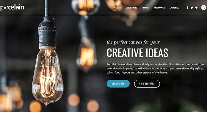 Porcelain Premium WordPress Theme