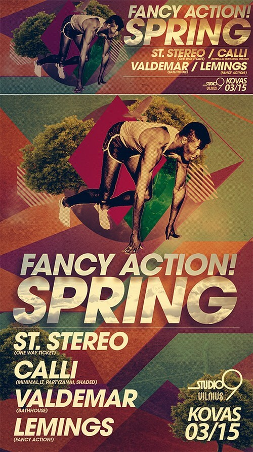 Fancy action spring