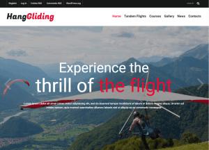 Interneto svetaines sablonas - Gliding