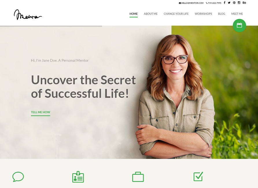 Life mentor wordpress theme