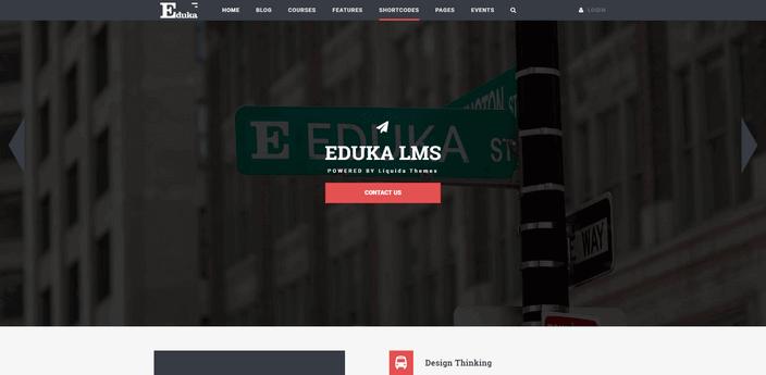Eduka wordpress theme
