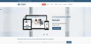 Guru learning wordpress tema