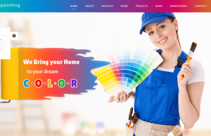 Painting wordpress theme